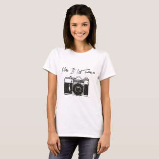 Camiseta Cámara