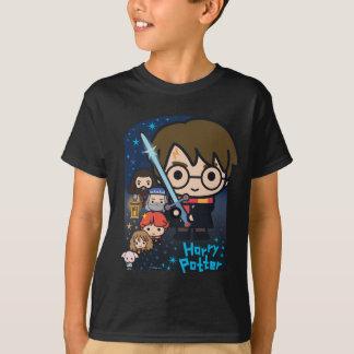 Camiseta Cámara de Harry Potter del dibujo animado de