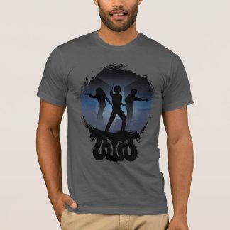 Camiseta Cámara de Harry Potter el   de silueta de los