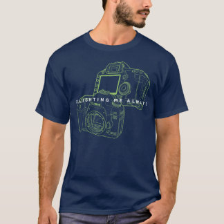 Camiseta Cámara oscura básica de Canon Greenlight de la