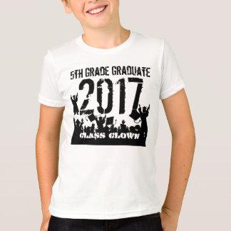 Camiseta Cambie el año a 2019 para 2012 5tos graduadores