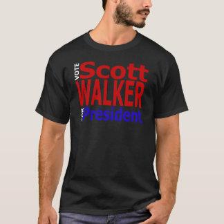 Camiseta Caminante de Scott del voto para el presidente