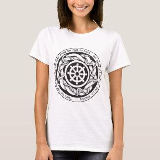 Camiseta Camino a la rueda de Dharma de la verdad
