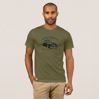 Camiseta Camión 1951 de General Motors GMC 100. Viejas