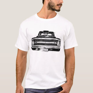 Camiseta Camión 1969 del músculo de Chevy C10