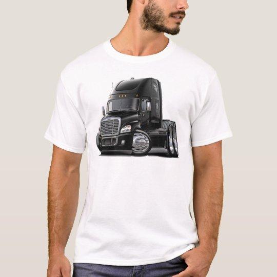 Camiseta Camión negro de Freightliner Cascadia
