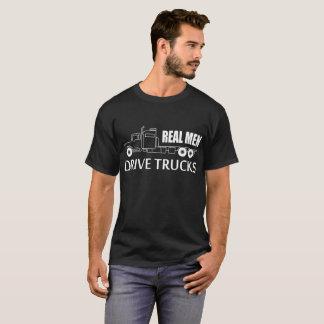 Camiseta Camiones reales de la impulsión de los hombres