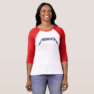 Camiseta 'Camisa de Merica en la fuente de la banda - azul
