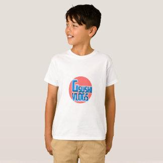 Camiseta ¡Camisa de Vlogs del sushi de los juegos de