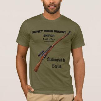 Camiseta ¡Camisa del francotirador de la PU de Mosin Nagant