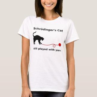 "Camiseta ""Camisa del gato de Schrödinger"" (luz)"