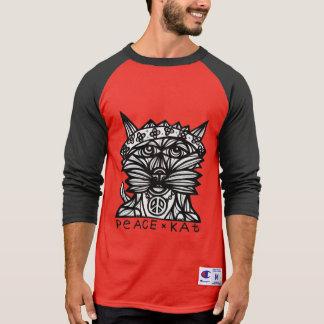 """Camiseta """"Camisa del raglán de los hombres del Kat"""""""