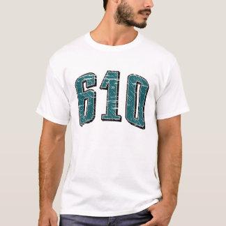 Camiseta (camiseta 610 del código de área)
