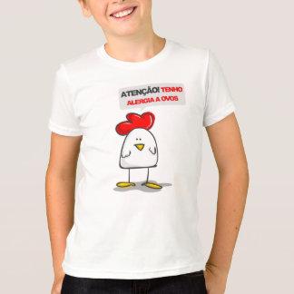 Camiseta Camiseta: Alergia un Ovos