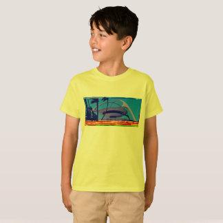 Camiseta ¡camiseta databent retra de los niños de LAX!