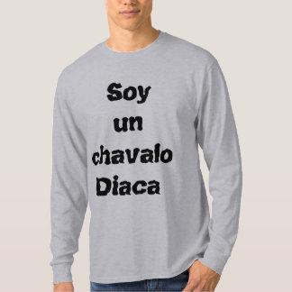 Camiseta, camiseta de los hombres, lema de