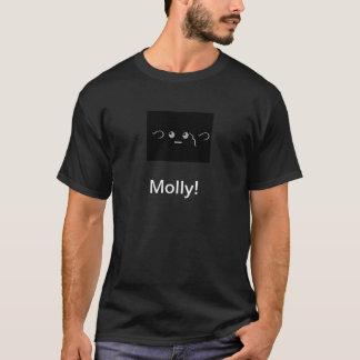 Camiseta ¡Camiseta de Molly de la charla de la contracción