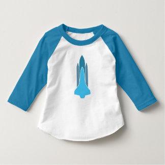 Camiseta {Camiseta de Rocket del raglán de la manga del