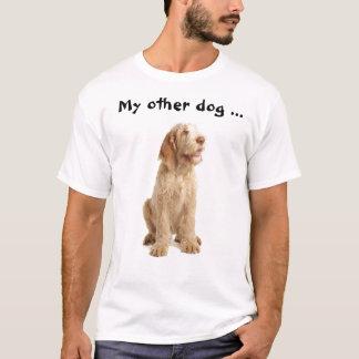 """Camiseta ¡Camiseta - de """"un Spinone mi otro perro también!"""