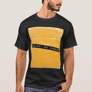 """Camiseta """"Camiseta del negro del queso del empleo"""""""