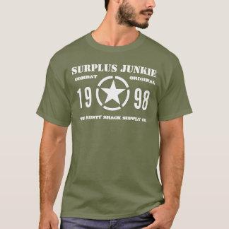 "Camiseta Camiseta"" del OD del ""drogadicto de sobra"