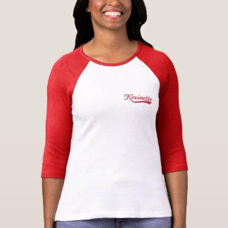 Camiseta Camiseta/frente y parte posterior del raglán de