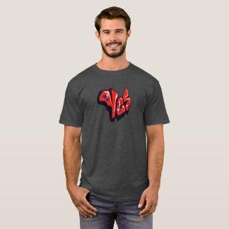 Camiseta ¡Camiseta impresionante y nerviosa del estilo de