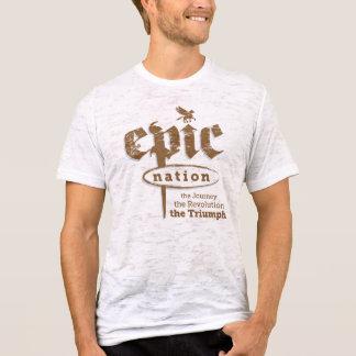 """Camiseta """"Camiseta para hombre de la nación de la criatura"""""""
