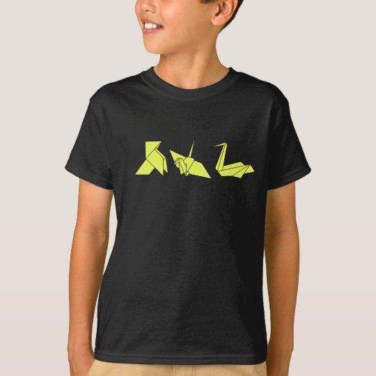 Camiseta camisetaniñoorigami