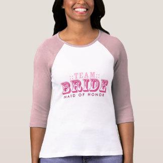 """Camiseta """"Camisetas nupciales de encargo del boda del"""