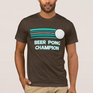 Camiseta Campeón de Pong de la cerveza