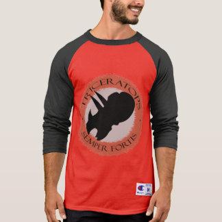 """Camiseta Campeón de Primabeasts """"Triceratops Semper Fortis"""""""