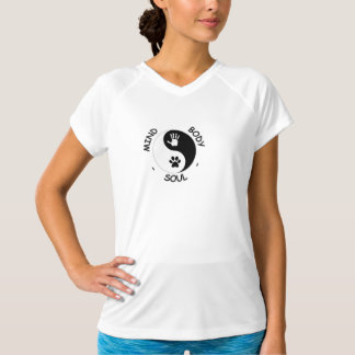Camiseta Campeón del Mente-Cuerpo-Alma de HandToPaw de las