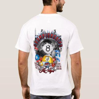 Camiseta Campeonatos Las Vegas de la piscina del mundo de