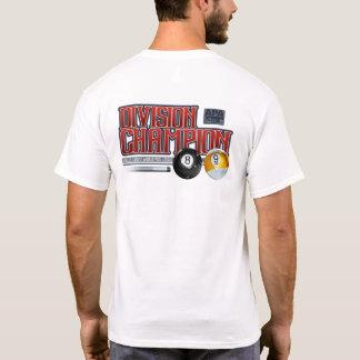 Camiseta Campeones 8 y de la división de APA bola 9
