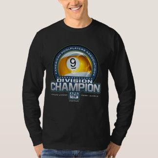 Camiseta Campeones de la división de la bola de APA 9