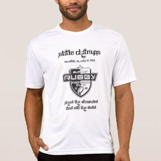 Camiseta campeones del estado del rugbi del condado de