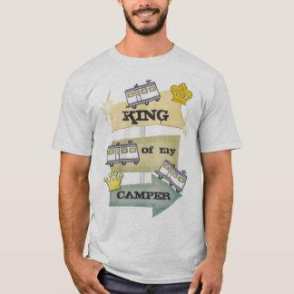 Camiseta Campista de rv/camiseta retros divertidos del