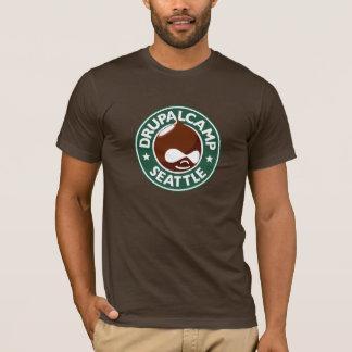 Camiseta Campo Seattle - Brown oscuro de Drupal