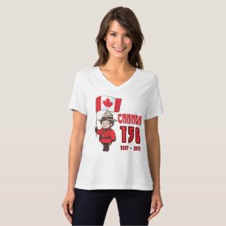 Camiseta Canadá 150 años de aniversario