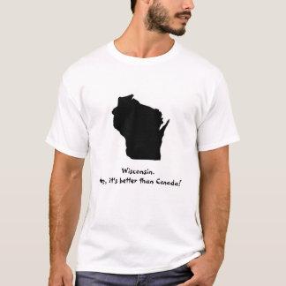 Camiseta ¡Canadá no es ningún Wisconsin!