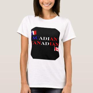 Camiseta Canadiense acadiense