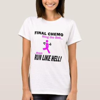 Camiseta Cáncer de pecho - Chemo final corre mucho