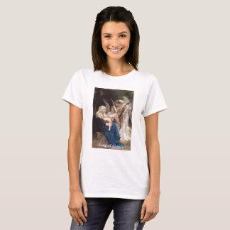 Camiseta Canción del Virgen María del vintage de la