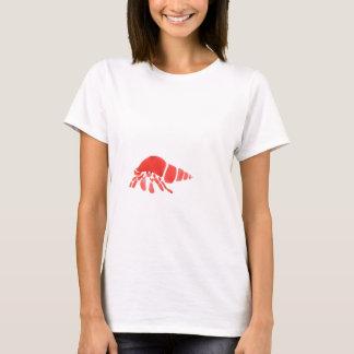 Camiseta Cangrejo de ermitaño rojo