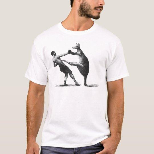 Camiseta Canguro del boxeo del vintage