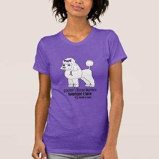 Camiseta Caniche de la enfermedad de Alzheimer: Alguien