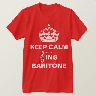 Camiseta Cante al barítono