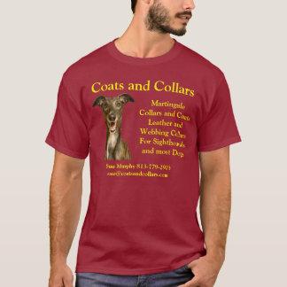 Camiseta Capas y cuellos, galgo