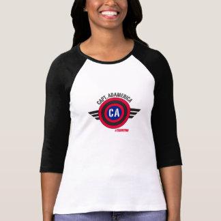 Camiseta Capitán Adamerica Baseball Tee - mujeres